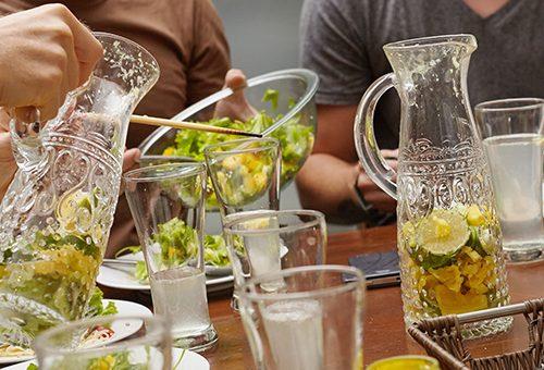 water gezond vergaderen