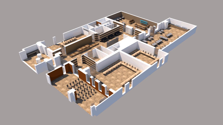 plan d'étage aalst meeting center